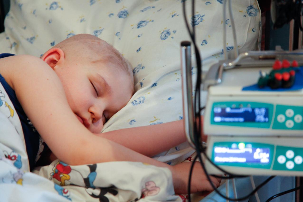 bambino reparto oncologia russia