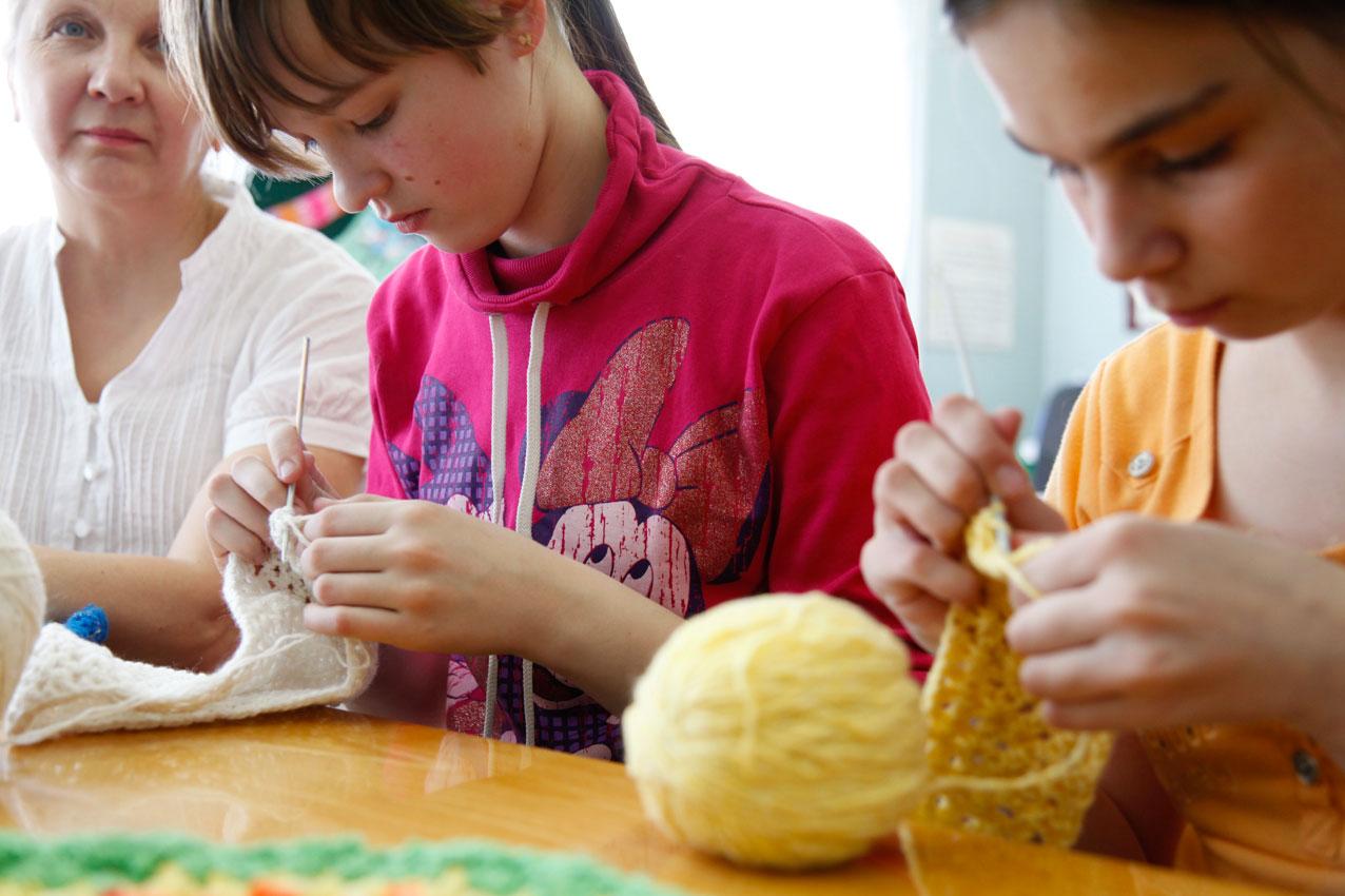 momento ricreativo orfanotrofio in russia